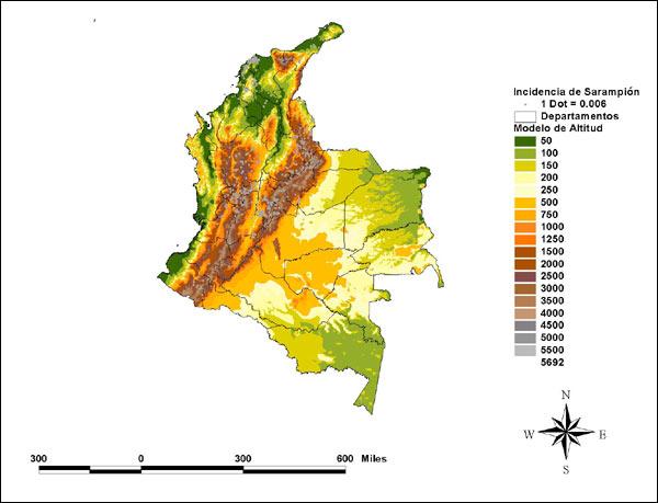 Estudio del nivel Regional de PAI utilizando GIS